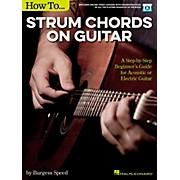 Hal Leonard How to Strum Chords on Guitar (Book/Video Online)