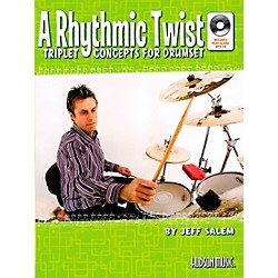 Hudson Music A Rhythmic Twist: Triplet Concepts for Drumset Book with MP3 CD by Jeff Salem (6620154)