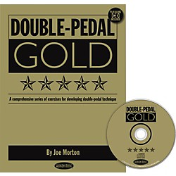 Hudson Music Double Pedal Gold Book and CD (6620112)