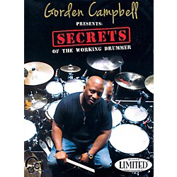 Hudson Music Gorden Campbell - Secrets of the Working Drummer DVD (114496)