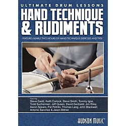 Hudson Music Hand Technique & Rudiments- Ultimate Drum Lessons Series DVD (111675)