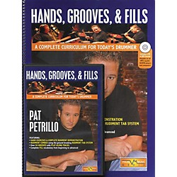 Hudson Music Hands Grooves and Fills Book and CD (A Complete Curriculum For Today's Drummer Book/CD/DVD) (6620107)