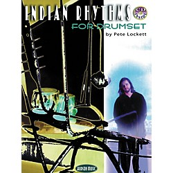 Hudson Music Indian Rhythms for Drumset by Pete Lockett (Book/CD) (6620117)