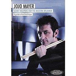 Hudson Music Jojo Mayer Secret Weapons for the Modern Drummer 2-DVD Set (320643)