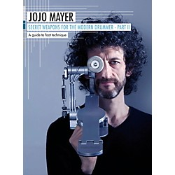 Hudson Music Jojo Mayer Secret Weapons for the Modern Drummer Part 2 - A Guide to Foot Technique 3-DVD Set (138540)