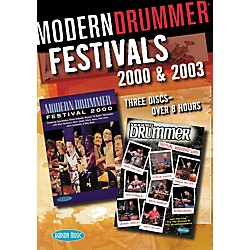 Hudson Music Modern Drummer Festivals 2000 and 2003 3-DVD Set (320594)