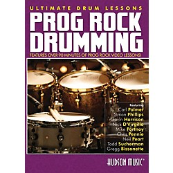 Hudson Music Progressive Rock Ultimate Drum Lessons Series Hudson DVD (321123)