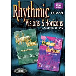 Hudson Music Rhythmic Visions & Horizons with Gavin Harrison 2 DVD Set (320700)