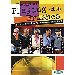Hudson Music The Art of Playing With Brushes 2 DVDs with Play-Along CD and Booklet (320649)