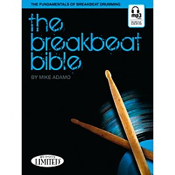 Hudson Music The Breakbeat Bible for Drumset Book with MP3 CD by Michael Adamo (6620153)