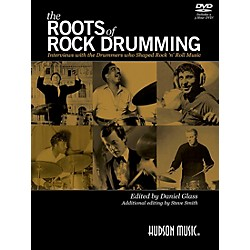 Hudson Music The Roots of Rock Drumming Book/DVD (119719)