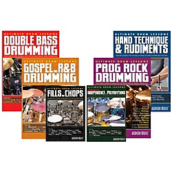 Hudson Music Ultimate Drum Lessons DVD Value Pack (UDL-DVD-6PK)
