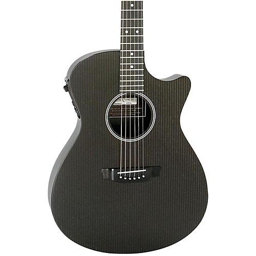 RainSong Hybrid Series H-OM1000N2 Slim Body Cutaway Acoustic-Electric Guitar-thumbnail