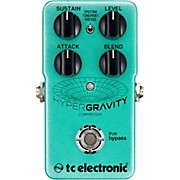 TC Electronic HyperGravity Compressor Guitar Pedal