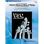 Alfred I Don't Want to Miss a Thing String Orchestra Grade 3.5