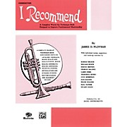 Alfred I Recommend B-Flat Cornet (Trumpet)