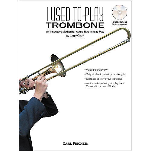 Carl Fischer I Used to Play Trombone Book/CD-thumbnail