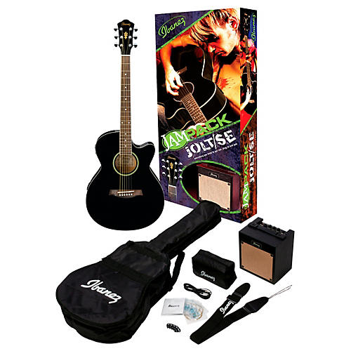 Ibanez IJAE5 JamPack Jolt/SE Acoustic-Electric Guitar Pack