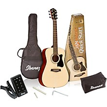 Ibanez IJV30 Quickstart 3/4 Acoustic Guitar Pack