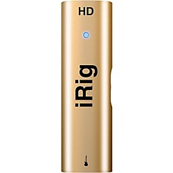 IK Multimedia Golden Anniversary iRig HD studio quality interface for iOS/PC/MAC (IP-IRIG-HDGOLD-IN)