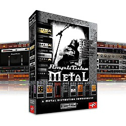IK Multimedia IK AmpliTube 2 Metal Software Download (1049-23)