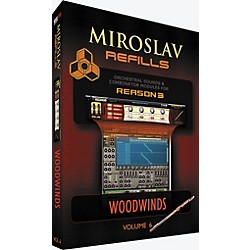 IK Multimedia Miroslav Refills for REASON Volume 6 - Woodwinds (SR-MR06-HCD-IN)