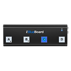 IK Multimedia iRig BlueBoard Bluetooth Wireless MIDI Footcontroller for iOS and Mac (IP-IRIG-BBRD-IN)