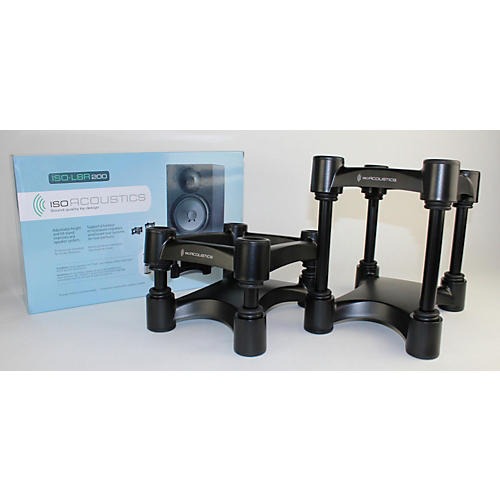 IsoAcoustics ISO-L8R200 Large Studio Monitor Stands - Pair-thumbnail
