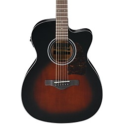 Ibanez AC400CEDVS Artwood Solid Top Grand Concert Acoustic-Electric Guitar (AC400CEDVS)