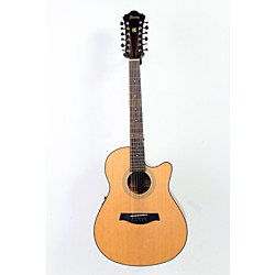 Ibanez AEF1512ENT 12-String Cutaway Acoustic-Electric Guitar (USED006002 AEF1512ENT)