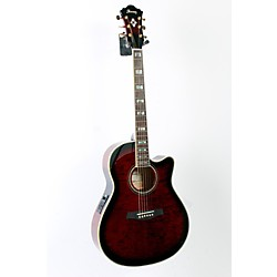 Ibanez AEF37E Cutaway Acoustic-Electric Guitar (USED005027 AEF37ETCS)