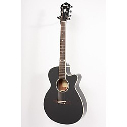 Ibanez AEG10E Cutaway Acoustic-Electric Guitar (USED007056 AEG10EBK)