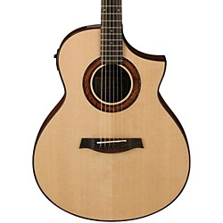 Ibanez AEW23MVNT Movingui Exotic Wood Acoustic-Electric Guitar (AEW23MVNT)