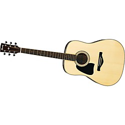 Ibanez AW300 Artwood Solid Top Dreadnought Left-Handed Acoustic Guitar (USED004000 AW300LNT)
