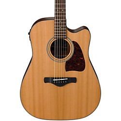 Ibanez AW450CENT Artwood Solid Top Dreadnought Acoustic-Electric Guitar (AW450CENT)