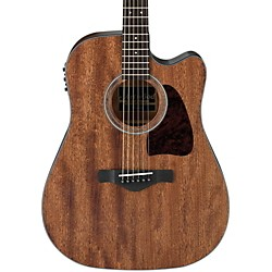 Ibanez AW54CEOPN Artwood Solid Top Dreadnought Acoustic-Electric Guitar (AW54CEOPN)