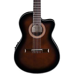 Ibanez GA35 Thinline Acoustic-Electric Classical Guitar (GA35TCEDVS)