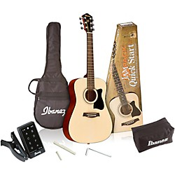 Ibanez IJV30 Quickstart 3/4 Acoustic Guitar Pack (IJV30)