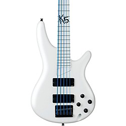 Ibanez Korn 20th Anniversary K5 Fieldy Signature 5-String Electric Bass Guitar (K5WHLTDWC)