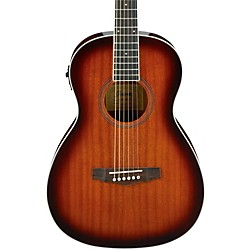Ibanez PN12MHEOPN Mahogany Parlor Acoustic-Electric Guitar (PN12EVMS)