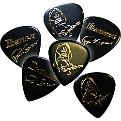 Ibanez Paul Gilbert Black Signature Picks 6-Pack (B1000PGBK)