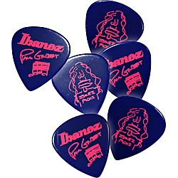 Ibanez Paul Gilbert Blue Signature Picks 6-Pack (B1000PGJB)