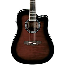 Ibanez Performance PF28ECE Dreadnought Cutaway Acoustic-Electric Guitar (PF28ECEDVS)