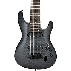 Ibanez S Series S8QM 8-String Electric Guitar (S8QMTGB)