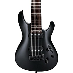 Ibanez S8 Series 8-String Electric Guitar (S8BK)