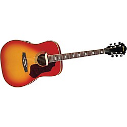 Ibanez Sage Series SGE220 Dreadnought Acoustic-Electric Guitar (SGE220CS)
