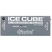 Radial Engineering IceCube IC-1 Balanced Line Isolator and Hum Eliminator