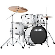 """Tama Imperialstar 5-Piece Drum Set with 18"""" Bass Drum and Meinl Cymbals"""