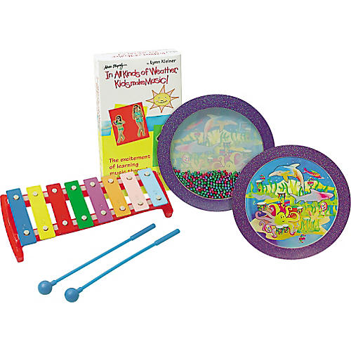 Rhythm Band In All Kinds of Weather Kids Make Music! Percussion Kit with Video-thumbnail