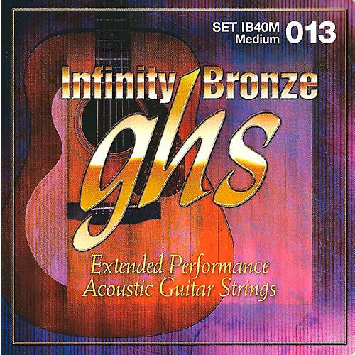 GHS Infinity Bronze Acoustic Medium Guitar Strings